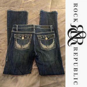 Rock & Republic (Kasandra) Kohl's Jeans - Size 6